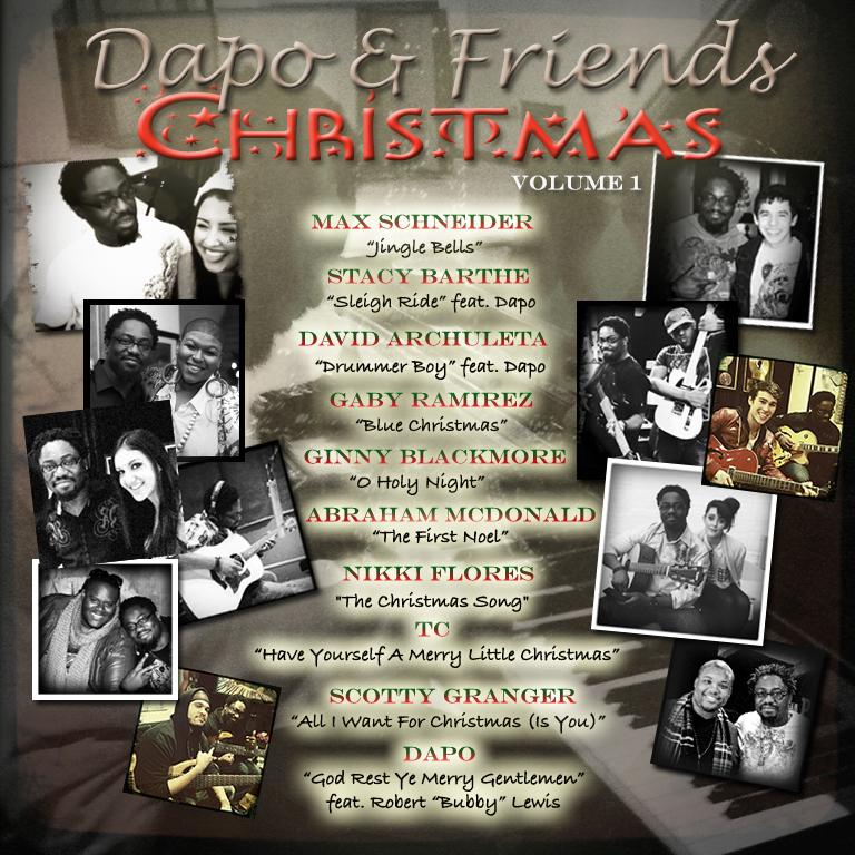 "David on ""Dapo & Friends Christmas"""