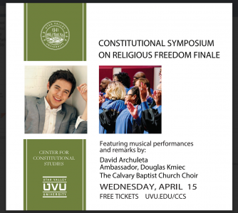 Constitutional Symposium on Religious Freedom