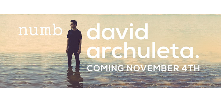 "New Single ""Numb"" by David Archuleta To Be Released Nov. 4"