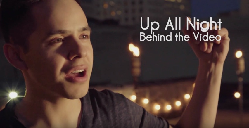 Up All Night – Behind The Video