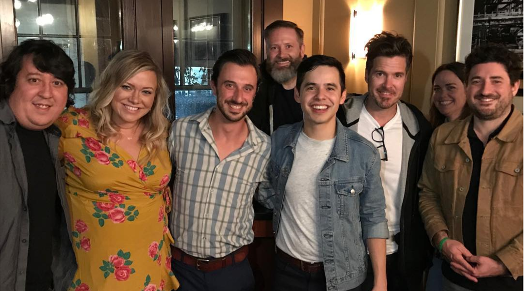 "David Archuleta's Collaborators on ""Postcards in the Sky"""